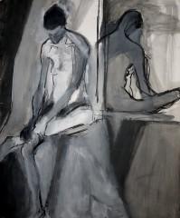 reflection 1 - 62 x73 cm