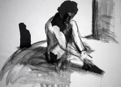 shadow/ombre - 81 x 58 cm