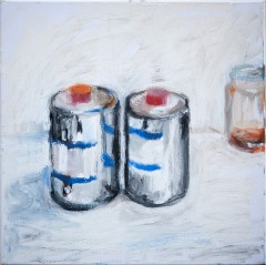 2 cans - 40 x 40 cm